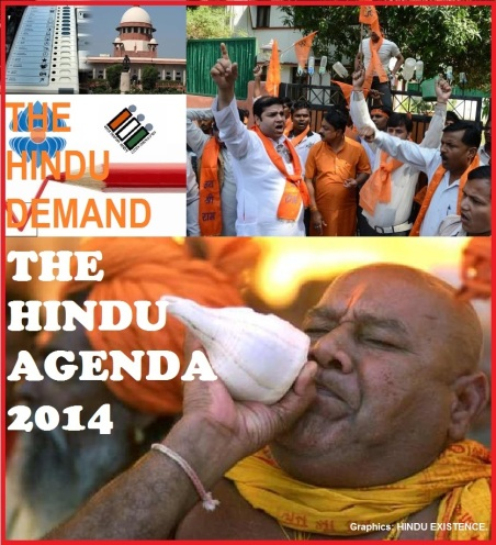 THE HINDU AGENDA 2014